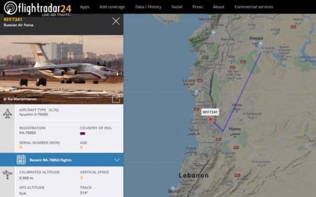 Không quân vận tải Nga căng mình trên 2 mặt trận Thổ Nhĩ Kỳ và Syria - Gấp rút chưa từng thấy - Ảnh 2.