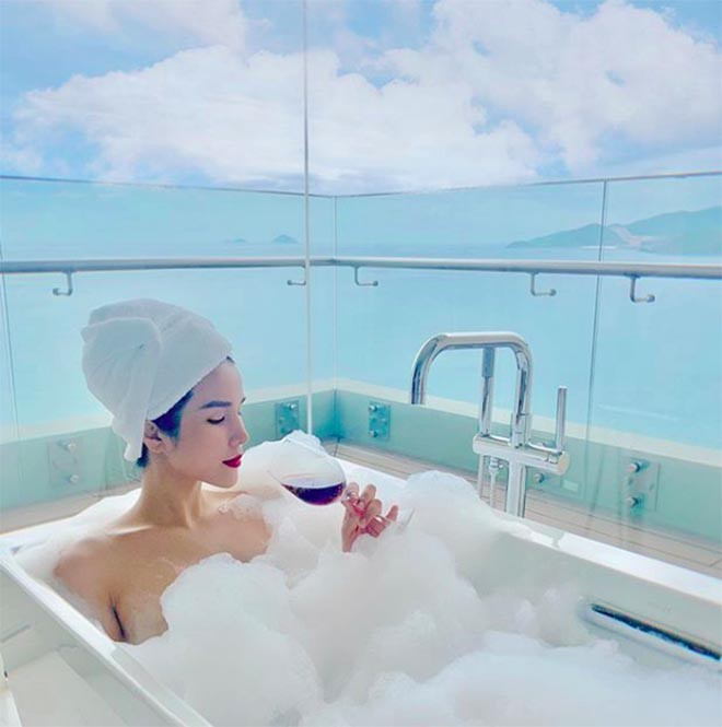 Diệp Lâm Anh mang bầu lần 2: Sống sang chảnh, nghiện chụp ảnh bikini nóng bỏng - Ảnh 5.