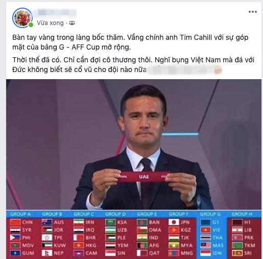 CĐV Việt Nam người ngao ngán, người mừng rỡ vì ĐT lọt vào bảng tử thần vòng loại World Cup - Ảnh 4.