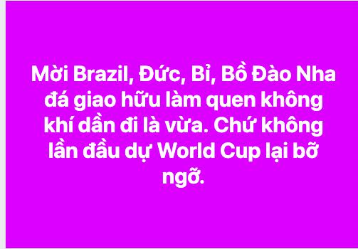 CĐV Việt Nam người ngao ngán, người mừng rỡ vì ĐT lọt vào bảng tử thần vòng loại World Cup - Ảnh 5.