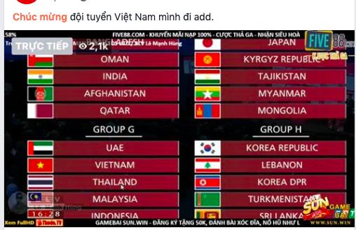 CĐV Việt Nam người ngao ngán, người mừng rỡ vì ĐT lọt vào bảng tử thần vòng loại World Cup - Ảnh 6.