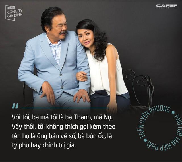 """Trần Uyên Phương: Người ta nói chúng tôi """"trúng số cuộc đời"""", còn ba bảo làm con Dr Thanh may mắn thật nhưng cũng """"bạc phước"""" đấy! - Ảnh 2."""