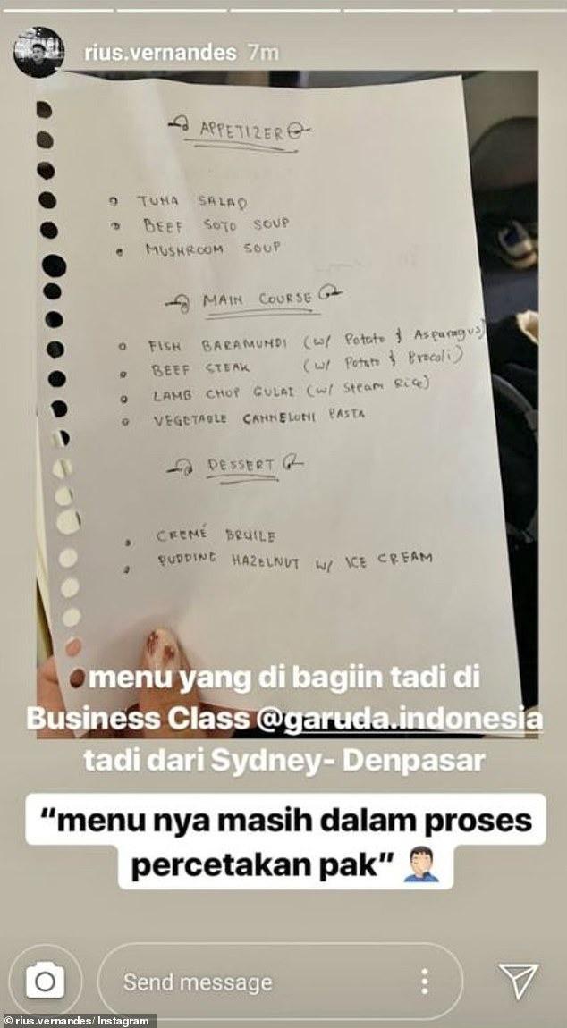 Đăng ảnh phàn nàn menu viết tay trên máy bay, cặp đôi blogger du lịch bị kiện và sắp sửa đối mặt mức án 4 năm tù giam - Ảnh 2.