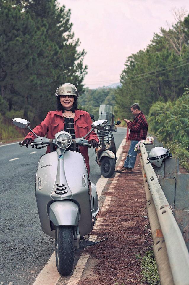 Chàng trai đưa mẹ và em gái đi phượt bằng xe máy 400 triệu khiến nhiều người trầm trồ - Ảnh 1.