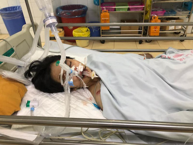 Hà Nội: Nữ sinh Đại học Quốc gia gặp tai nạn trên đường đi học về, mẹ cầu cứu cộng đồng mạng giúp đỡ - Ảnh 2.