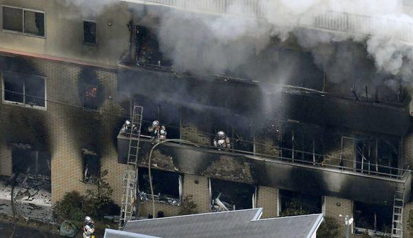 Câu nói lạnh gáy của kẻ phóng hỏa đốt xưởng phim Nhật làm 33 người chết - Ảnh 1.