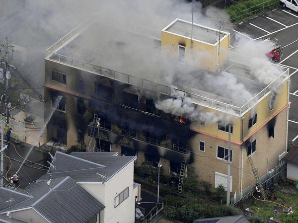 Câu nói lạnh gáy của kẻ phóng hỏa đốt xưởng phim Nhật làm 33 người chết - Ảnh 2.