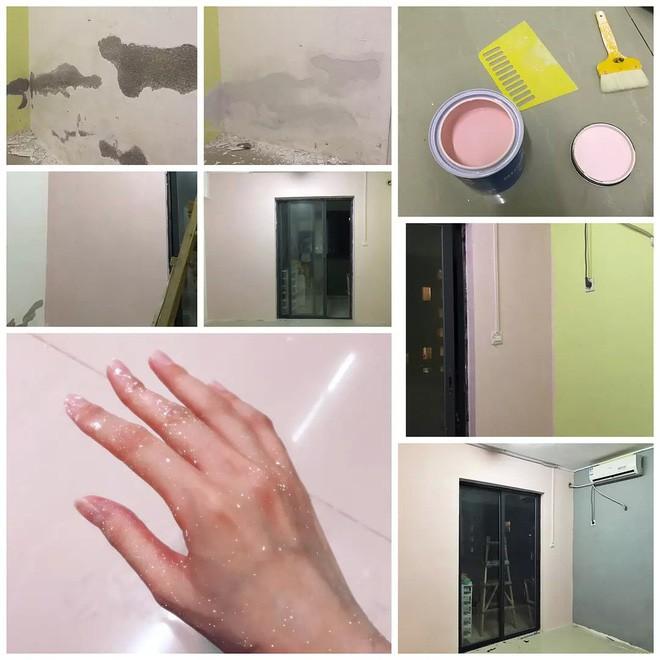 Thuê phải căn phòng trọ 15m2 ẩm mốc, cô gái dành hẳn 2 tháng liền để cải tạo thành không gian sống ấm cúng - Ảnh 6.