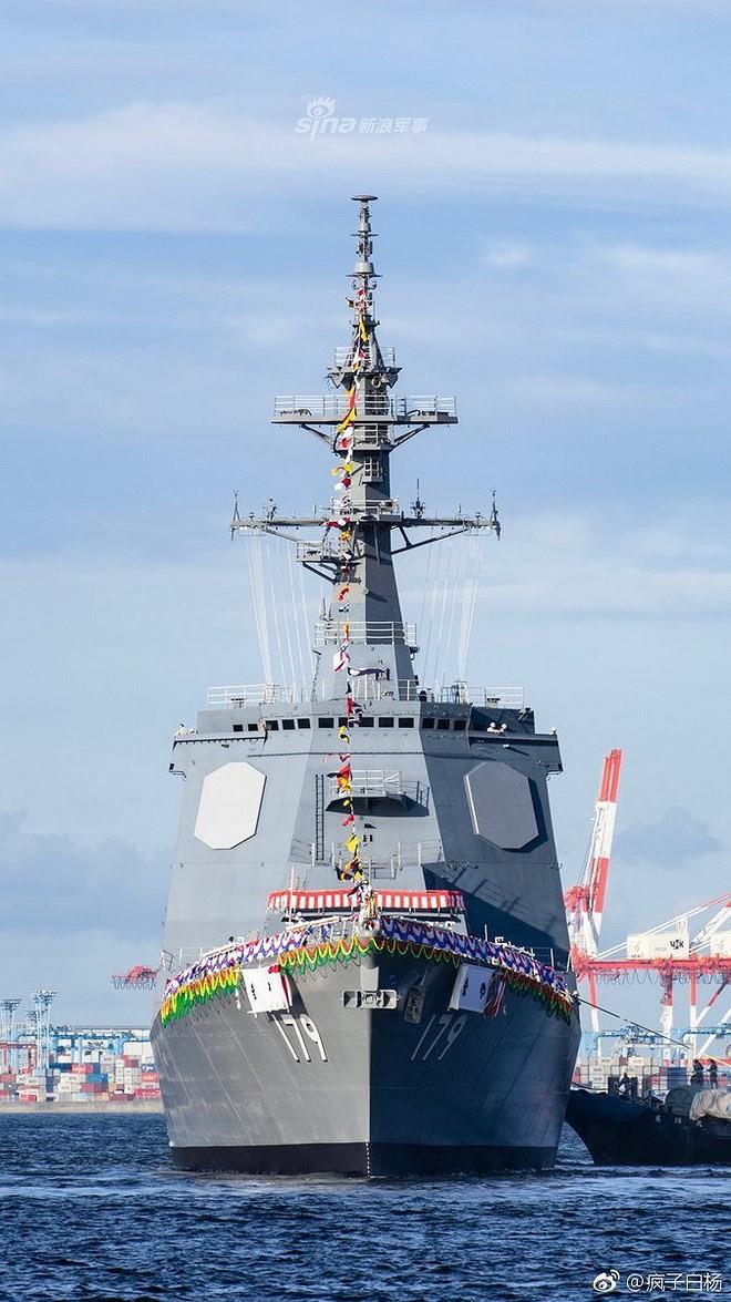 Trung Quốc giật mình khi Nhật Bản nhanh chóng hạ thủy thêm khu trục hạm lớp Maya - Ảnh 5.