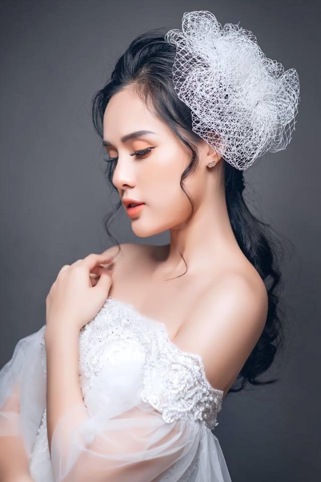 Bạn gái cầu thủ Trọng Đại 6 lần thi Hoa hậu để kiếm nhiều tiền như Phạm Hương - Ảnh 7.