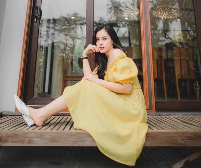 Bạn gái cầu thủ Trọng Đại 6 lần thi Hoa hậu để kiếm nhiều tiền như Phạm Hương - Ảnh 8.