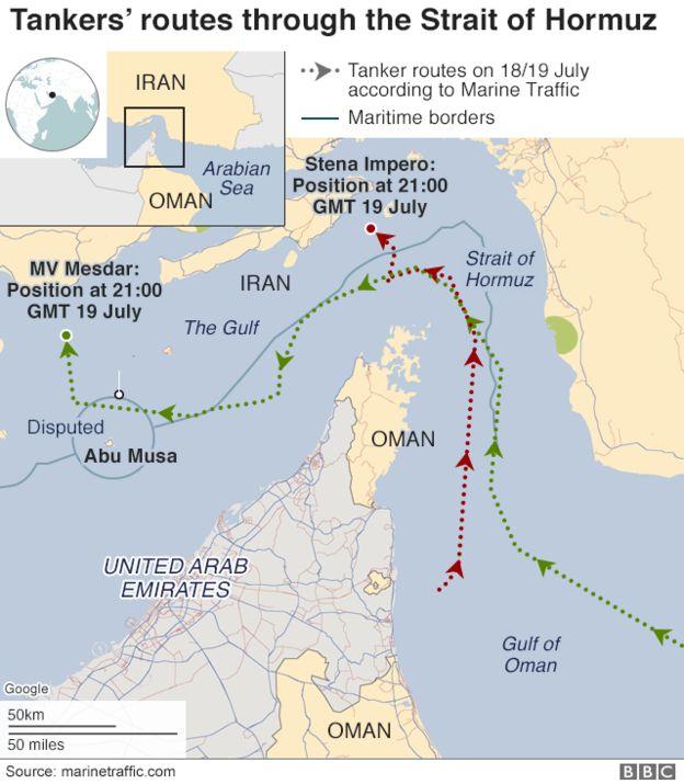 Iran tung video bắt giữ tàu chở dầu ở Eo biển Hormuz - Tàu chiến Hải quân Anh can thiệp bất thành - Ảnh 8.