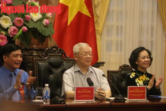 Tổng Bí thư, Chủ tịch nước Nguyễn Phú Trọng gặp mặt cán bộ Công đoàn tiêu biểu  - Ảnh 3.