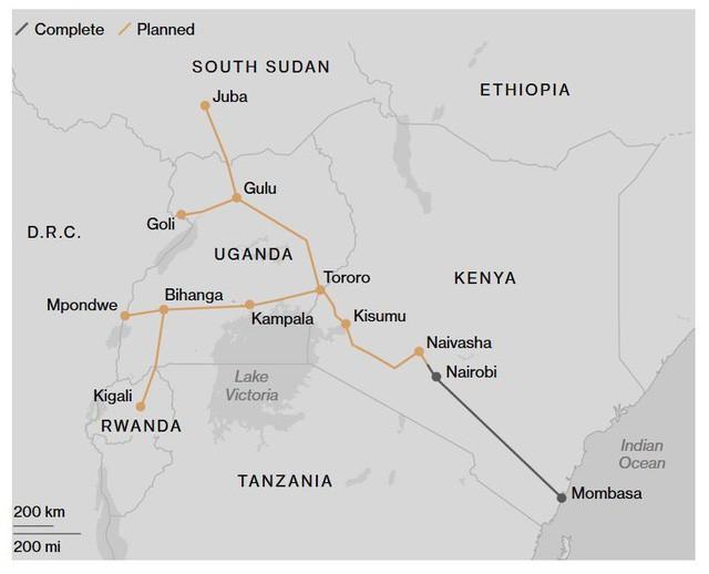 """Thảm cảnh đường sắt Trung Quốc xây ở Kenya: Lơ lửng giữa 'hư không"""" - ảnh 1"""
