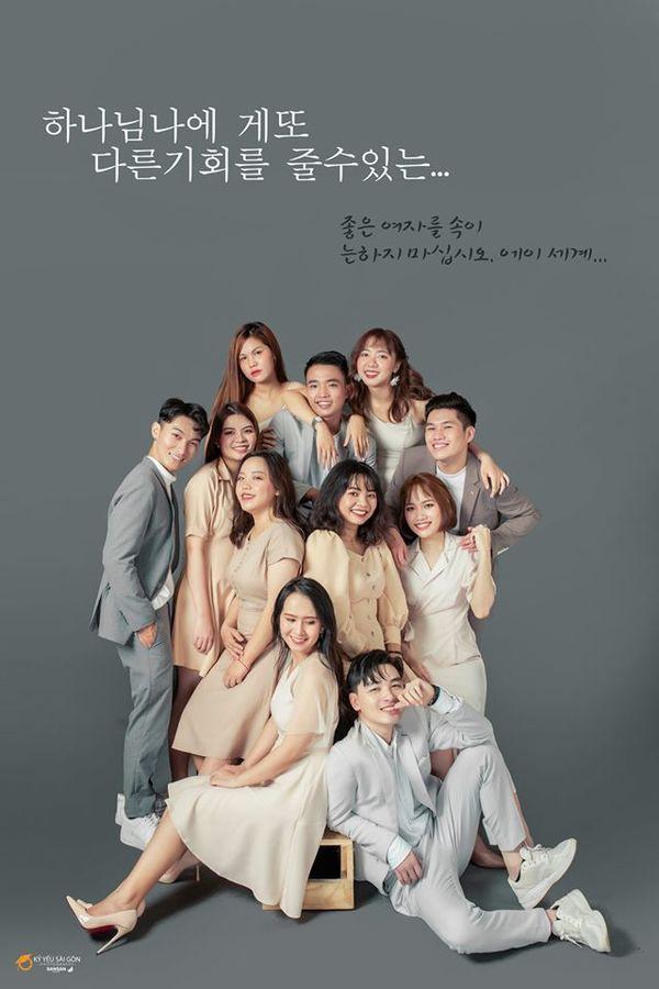 Bộ ảnh kỷ yếu Hàn Quốc xịn của nhóm bạn 11 người - Ảnh 1.