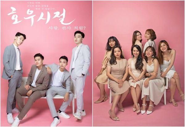 Bộ ảnh kỷ yếu Hàn Quốc xịn của nhóm bạn 11 người - Ảnh 4.