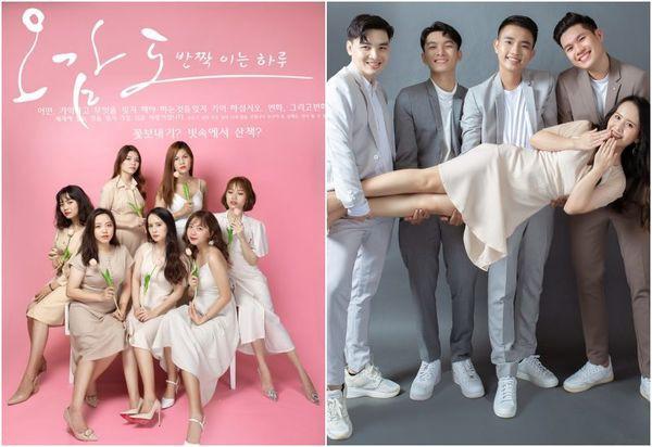 Bộ ảnh kỷ yếu Hàn Quốc xịn của nhóm bạn 11 người - Ảnh 8.
