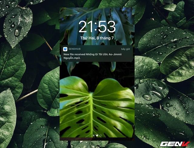 Cách sử dụng SendHub để chuyển dữ liệu từ máy tính sang iPhone - Ảnh 9.