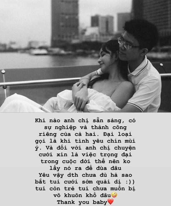 Yêu thiếu gia nhà chẳng có gì ngoài tiền nhưng câu trả lời của bạn gái Phan Hoàng về chuyện kết hôn khiến ai cũng suy ngẫm - Ảnh 7.