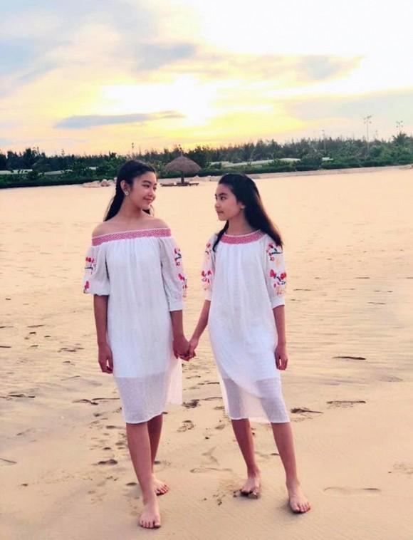 Con gái 14 tuổi của MC Quyền Linh được khen xinh như hoa hậu - Ảnh 2.