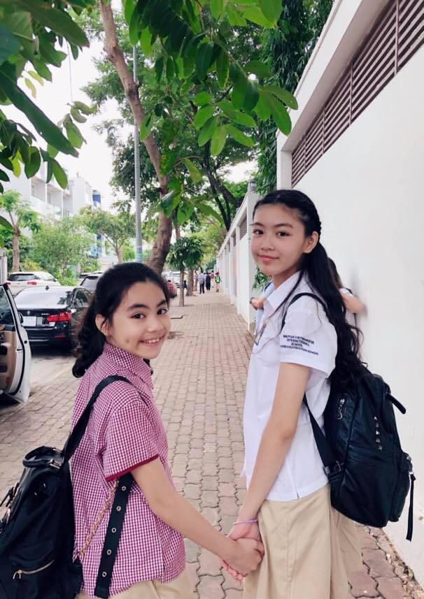 Con gái 14 tuổi của MC Quyền Linh được khen xinh như hoa hậu - Ảnh 5.