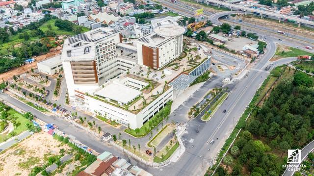Cận cảnh dự án bệnh viện gần 6.000 tỷ đồng tại TP.HCM sắp đi vào hoạt động vào cuối năm 2019 - Ảnh 7.