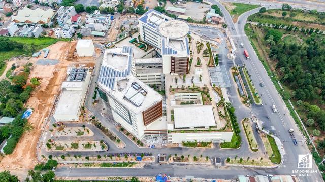 Cận cảnh dự án bệnh viện gần 6.000 tỷ đồng tại TP.HCM sắp đi vào hoạt động vào cuối năm 2019 - Ảnh 8.