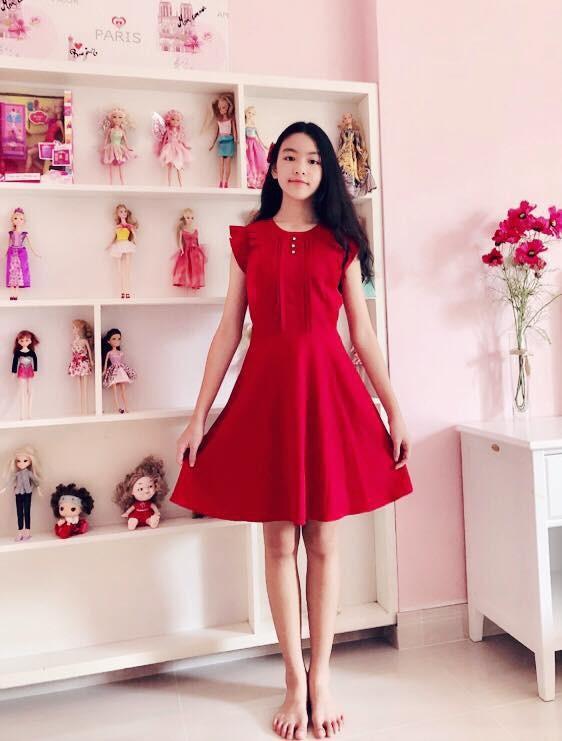 Con gái 14 tuổi của MC Quyền Linh được khen xinh như hoa hậu - Ảnh 8.