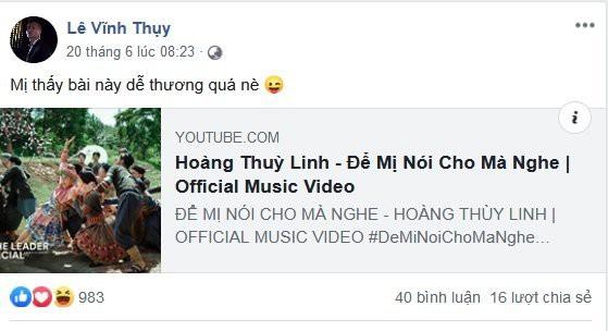 Vĩnh Thuỵ đăng clip tình tứ với Hoàng Thuỳ Linh sau nghi vấn đã chia tay - Ảnh 7.
