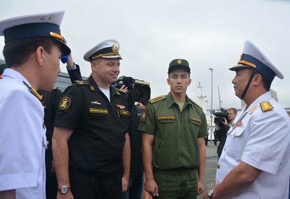 Tàu 016-Quang Trung thăm xã giao Liên bang Nga - Ảnh 3.