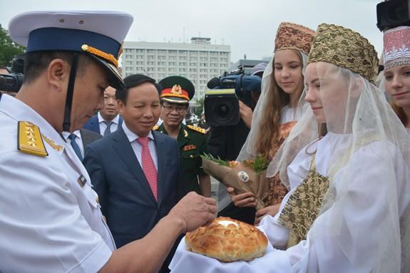 Tàu 016-Quang Trung thăm xã giao Liên bang Nga - Ảnh 5.