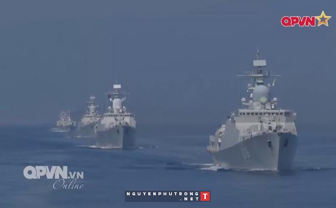 Tàu 016-Quang Trung thăm xã giao Liên bang Nga - Ảnh 1.