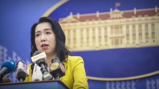 Clip: Yêu cầu nhóm tàu Hải Dương 8 rút ngay khỏi vùng đặc quyền kinh tế của Việt Nam - Ảnh 2.