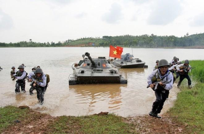 Hải quân đánh bộ - lực lượng tinh nhuệ của Hải quân nhân dân Việt Nam - Ảnh 18.