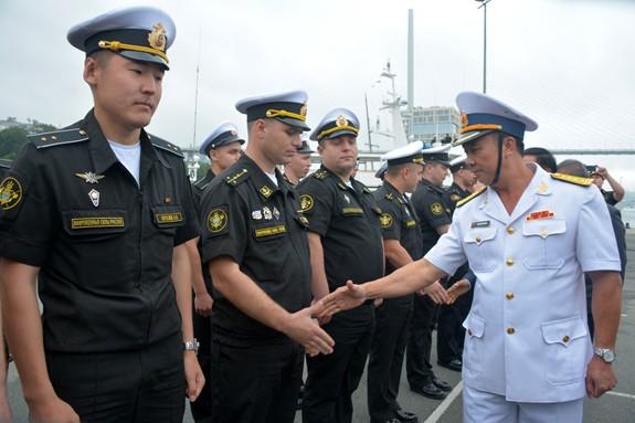 Tàu 016-Quang Trung thăm xã giao Liên bang Nga - Ảnh 7.