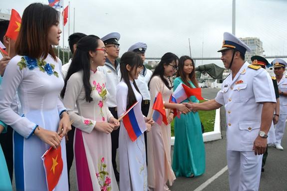 Tàu 016-Quang Trung thăm xã giao Liên bang Nga - Ảnh 9.