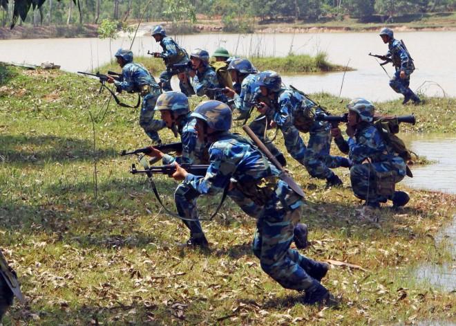 Hải quân đánh bộ - lực lượng tinh nhuệ của Hải quân nhân dân Việt Nam - Ảnh 8.