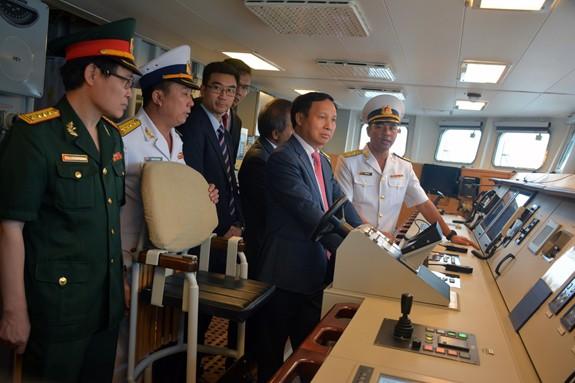 Tàu 016-Quang Trung thăm xã giao Liên bang Nga - Ảnh 11.