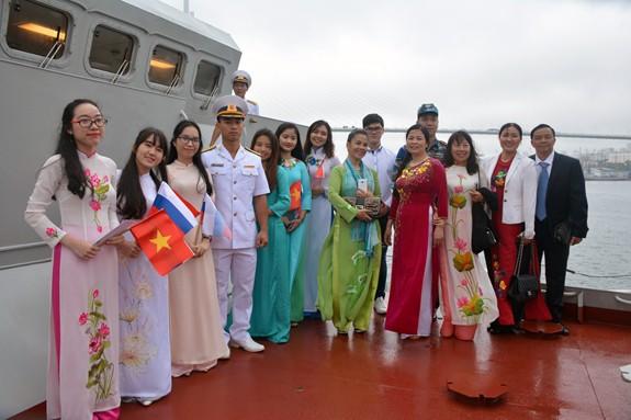Tàu 016-Quang Trung thăm xã giao Liên bang Nga - Ảnh 12.