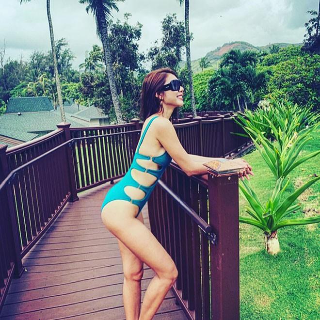 Cựu người mẫu Ngọc Quyên chăm khoe ảnh bikini gợi cảm sau khi ly hôn chồng Việt kiều - Ảnh 2.