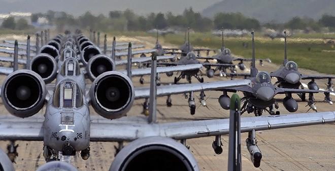 Cường kích A-10 Mỹ bất ngờ tới Hàn Quốc để răn đe Triều Tiên? - Ảnh 14.