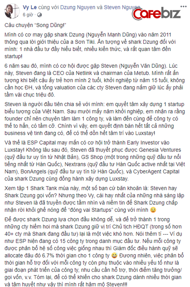 Nghi vấn dàn cá mập là chỗ thân quen với startup vừa nhận được deal 6 triệu USD Luxstay: Lộ hình ảnh Shark Hưng, Shark Việt cùng Shark Dzung trong sự kiện của Luxstay năm ngoái - Ảnh 6.
