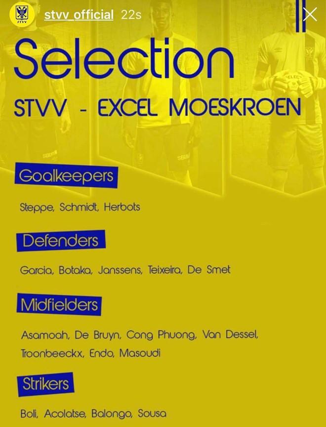 Sự thật về thông tin Sint-Truidense VV không cho Công Phượng đá ở trận đại thắng Herk 6-2 - Ảnh 6.