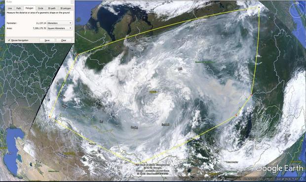 Khó tin nhưng có thực: Bắc Cực đang bốc cháy cực mạnh, và đám cháy ấy lớn đến mức nhìn thấy được từ ngoài vũ trụ - Ảnh 4.