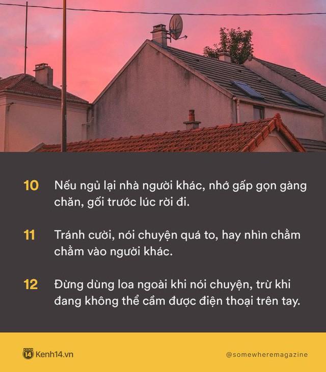 Không cần biết nhiều chỉ cần biết điều: Nằm lòng 30 quy tắc để không bao giờ biến mình thành kẻ bất lịch sự - Ảnh 4.