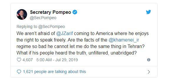 Ngoại trưởng Mỹ đề nghị đến thăm và nói chuyện trực tiếp với người dân Iran, Tehran từ chối  - Ảnh 2.