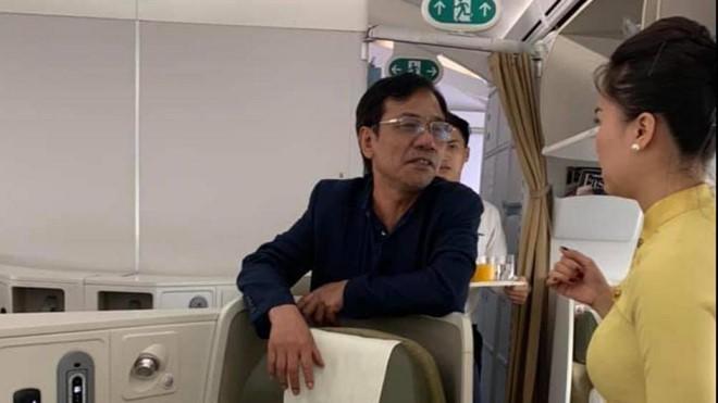 Cục Hàng không cân nhắc cấm bay khách hạng thương gia bị tố sàm sỡ - Ảnh 1.