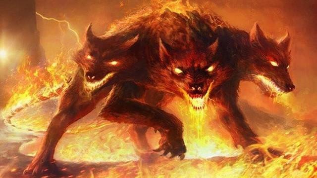 Chó quỷ 3 đầu Cerberus và những loài quái vật đáng sợ nhất dưới địa ngục - Ảnh 1.