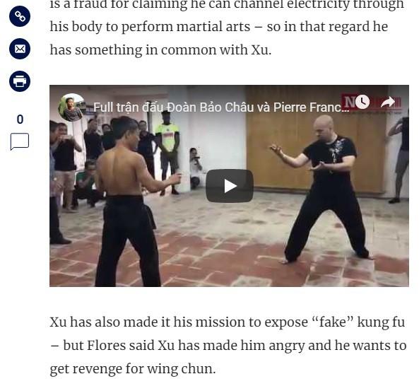Nóng: Báo Trung Quốc lần đầu tiên đăng tin Flores thách đấu Từ Hiểu Đông - Ảnh 2.