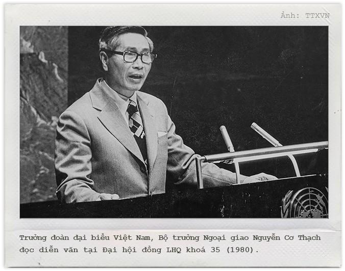 Ông Nguyễn Cơ Thạch và những cuộc đấu trí ở LHQ giải vây cho Việt Nam - Ảnh 4.